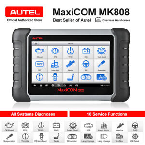 Autel Mk808 Diagnostic Scanner Tool Fits Ford Gm Dodge Jeep Chrysler Abs Dpf Srs