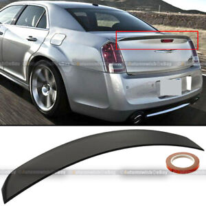 For 11 19 Chrysler 300 Factory Oe Style Unpainted Trunk Lip Spoiler Rear Wing