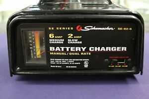 Schumacher Battery Charger Manual dual Rate Se 82 6