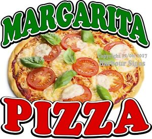 Margarita Pizza Decal choose Your Size Food Truck Concession Sticker