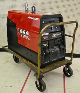 Lincoln Electric Ranger 305 Lpg Engine Driven Welder W Cart 36 9 Hrs Use