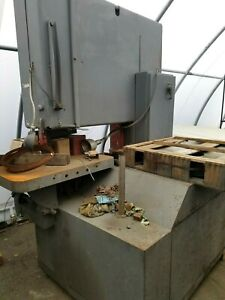 Grob 48 Inch Band Saw With Extra New Wheel Bandsaw