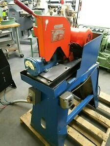 Speed Cut 10 Abrasive Cut Off Chop Saw Machine With Pneumatic Vise Ships Free