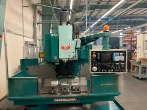 1986 Matsuura Mc760v Vertical Milling Machine With 4th Axis And Indexer