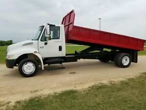 2006 International 4300 Dump Truck No Cdl And Has Hydraulic Brakes