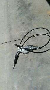 Mustang 5 0 Aod Automatic Transmission Shift Shifter Cable Linkage W Bracket