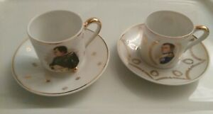 French Demitasse Cup And Saucer Set 2