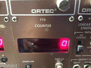 Ortec Eg g Nim Computer Module Model 770 Counter
