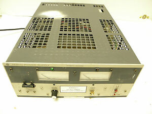 Kepco Ate 25 20m Power Supply Automatic Crossover 0 25v 0 20a High Voltage