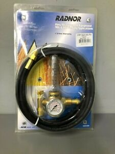 Radnor Hrf 1425 580 Victor Style Regulator Flowmeter With 10 Hose Cga 580