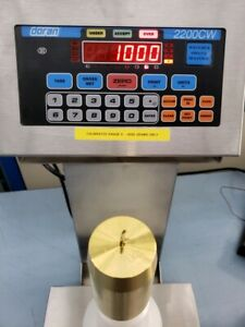 Doran Scales 2200cw Checkweigher Scale