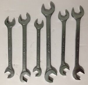 New Mac Tools 6mm 4 way Angle Head Open End Wrenches