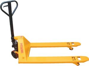 Toolots Manual Pallet Jack Truck 5500lbs Capacity 48 lx27 w Fork