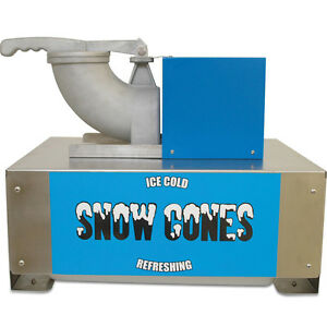 Benchmark Usa Commercial Snow Cone Maker Snow Blitz Shaved Crushed Ice Machine
