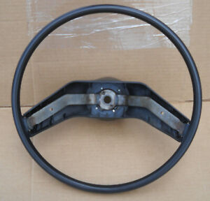 1973 1979 Ford Truck Steering Wheel F100 F150 Bronco F250 F350 Black