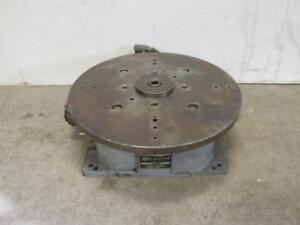 Graham Hydraulics Model 22 350 Hydraulic Rotary Index Table 22