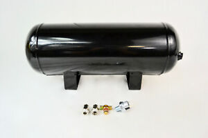 3 Gallon Air Tank 8 port Train Horn Air Suspension With Fittings