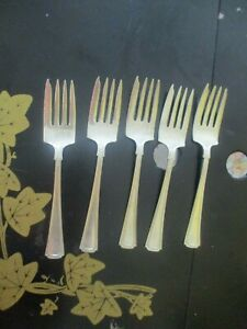 Antique Signed Sterling Silver Salad Fork Replacement Silverware Flatware Scrap