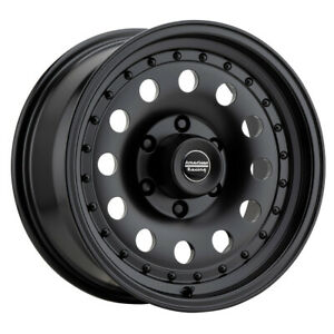 16 American Racing Outlaw Ii Black ar626838b Set Of 4 Wheels Rims