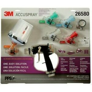 3m Accuspray One Spray Gun Kit Newest Version Pps 2 0 Authorized 3m Distributor