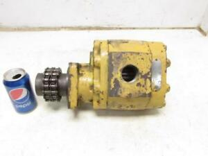 Commercial Intertech Model A7005 2 Hydraulic Pump Motor Part 051992