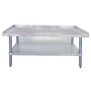24 X 48 18 gauge Stainless Steel Equipment Stand With Undershelf