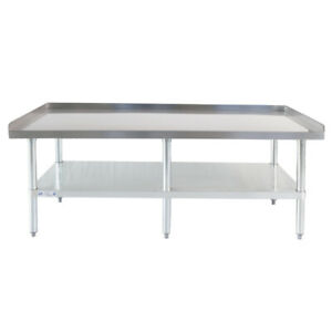 30 X 60 18 gauge Stainless Steel Equipment Stand With Undershelf