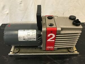 Edwards E2m2 Two Stage 1 3 Hp Single Phase Vacuum Pump