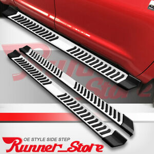 For 2019 2020 Chevy Silverado Crew Cab 6 Running Board Side Step Nerf Bar S S V