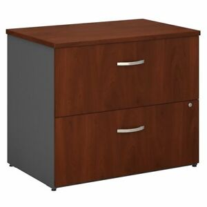 Series C 2 Drawer Lateral File Cabinet In Hansen Cherry Engineered Wood