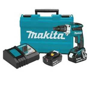 Makita Xsf05t 18v Lxt Brushless 2 500 Rpm Screwdriver Kit