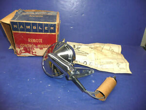Nos 1963 Amc Rambler Lh Remote Out Side Mirror Ct36