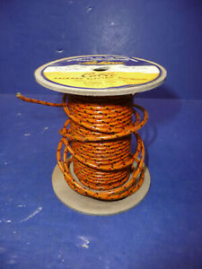 Vintage Nos Gm Packard Cloth Covered 16 Gauge Wire Ct36