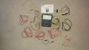 Micronta Multitester 22 220 Works Great Extra Probes Instructions Test Lights