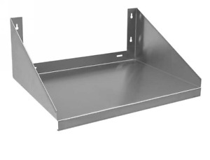 24 X 24 18 Gauge Stainless Steel 430 Microwave Shelf