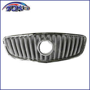 Front Upper Bumper Chrome Center Grille For 2010 2013 Buick Lacrosse 20899509