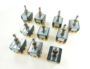 Carling Technologies On Off On Toggle Switch Lot Of 10