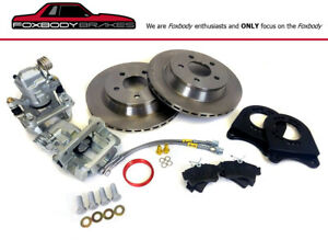 1987 1993 Rear Fox 8 8 5 Lug Brake Conversion For Fox Length Axles