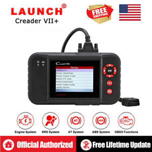 Launch X431 Vii Obd2 Scanner Code Reader Abs Airbag Srs Engine A T Diagnostic