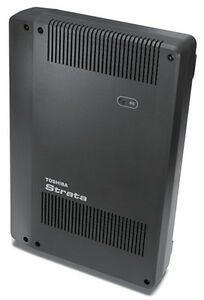 Toshiba Strata Cix40 System Chsu40a 3x8x1 With Eight Dp5022sd Telephones