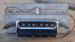 1953 1954 Chevy Car Radio Original Gm Delco Bel Air Am 150 210