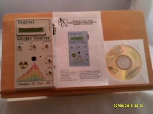 Vintage Images Si Inc Digital Geiger Counter With Manual User Guide Pc Dvd