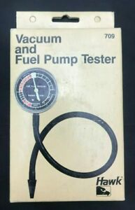 Quality Fuel Pump Vacuum Tester Gauge Pressure Diagnostics Cal Custom Hawk 709