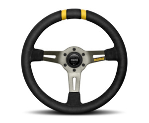 Momo Mod Drift Suede Steering Wheel Free Momo Suede Brush us Dealer