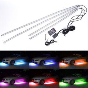 Led Light Strips Car Truck Underbody Under Glow Neon Waterproof Rgb 36 48