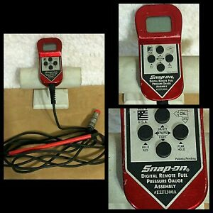 Snap On Tools Eefi300a Digital Remote Fuel Pressure Gauge Made In Usa Not Tested
