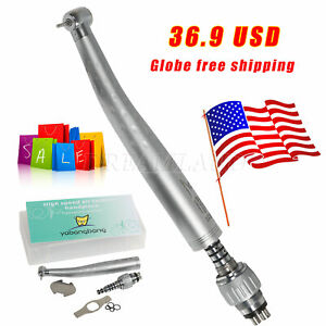 Yabangbang Dental High Speed Handpiece With Quick Coupler 4 hole Coupling Gb4