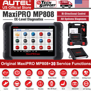 Autel Maxipro Mp808 Obd2 Automotive Scanner Tablet All Systems Diagnostic Tool