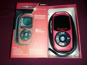 New Snap On Bk3000gm Digital Hand Held Video Inspection Scope New Open Box