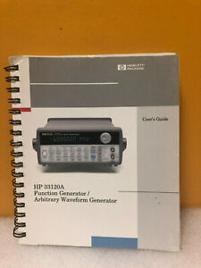 Hp agilent 33120 90005 33120a Function Generator waveform Generator User s Guide